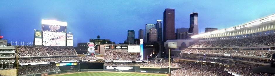 Target Field in Minneapolis, Minnesota